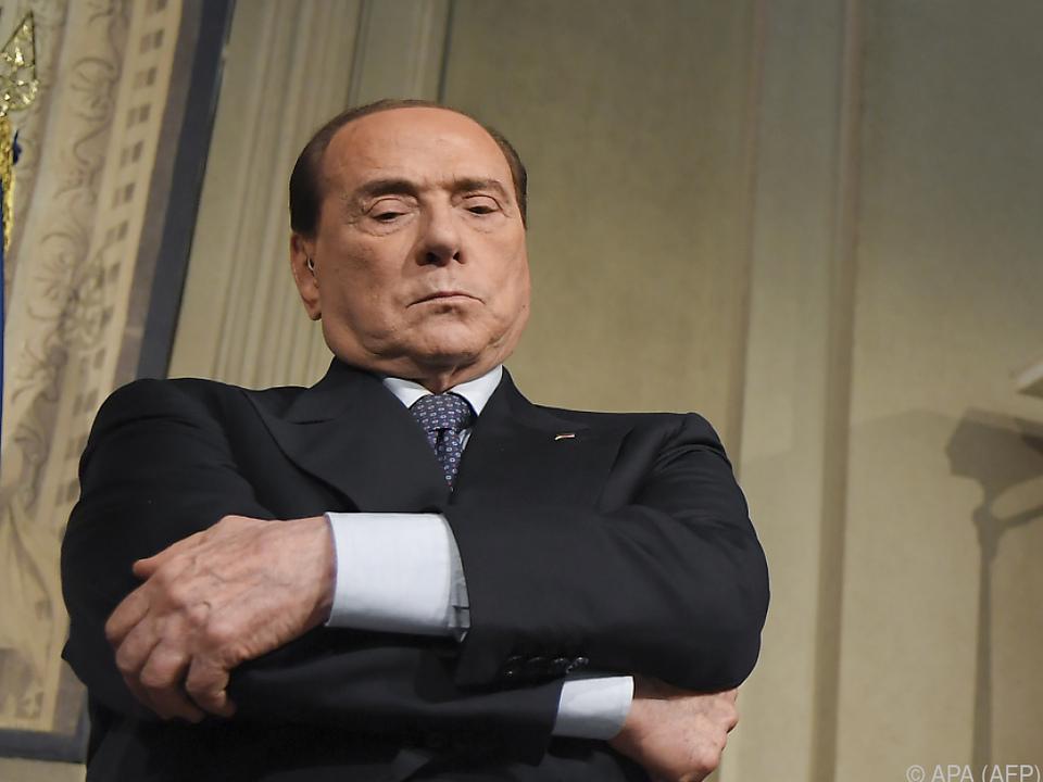 Berlusconi sagt \