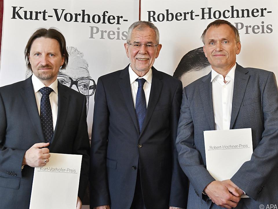 Bundespräsident Alexander van der Bellen verlieh die Preise