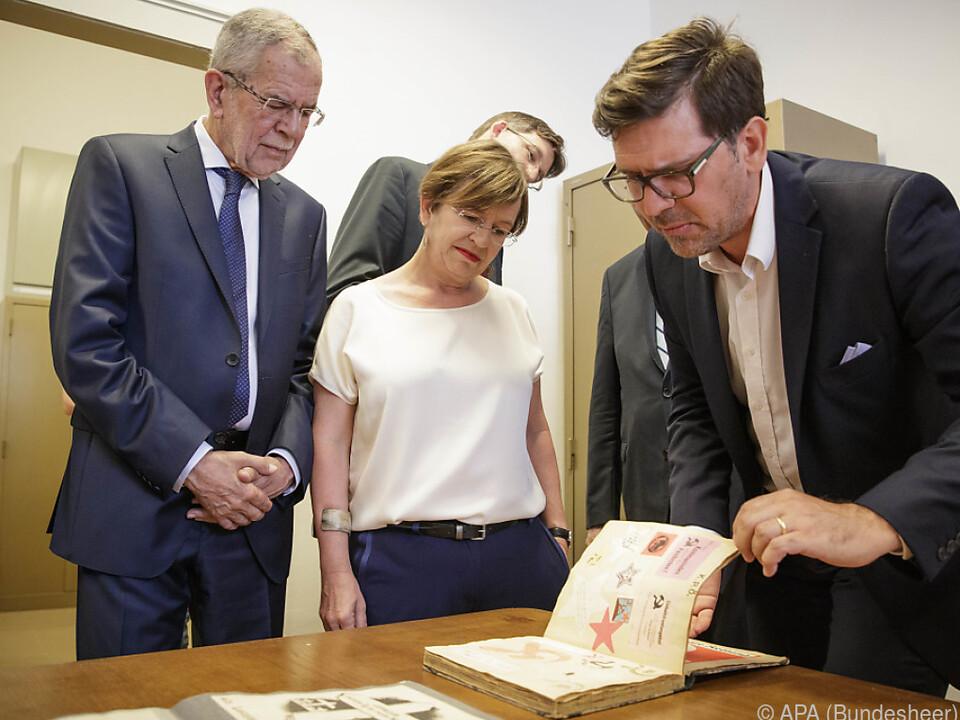 Bundespräsident hält die Arbeit des DÖW für unbestritten