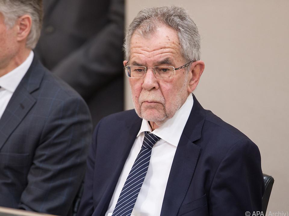 Bundespräsident Van der Bellen wünscht sich Aufklärung