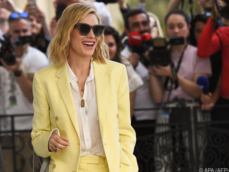 Cate Blanchett ist heuer Vorsitzende der Festival-Jury