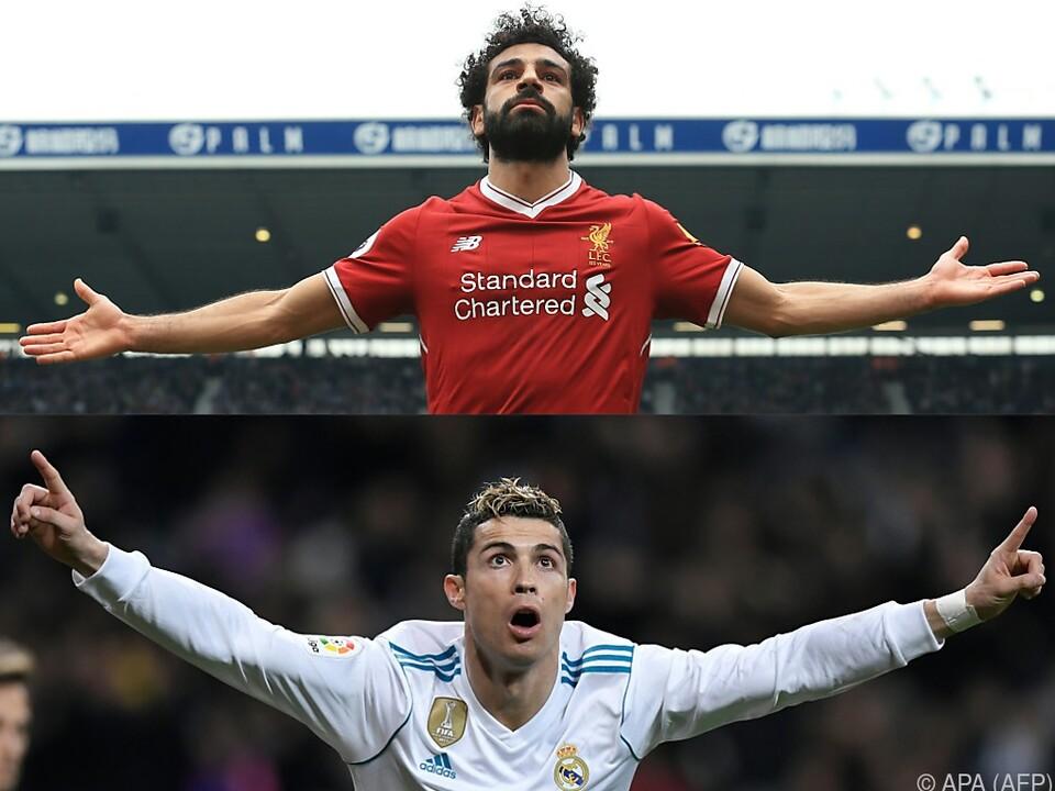Das Duell der beiden Topklubs ist auch ein Duell zweier Superstars