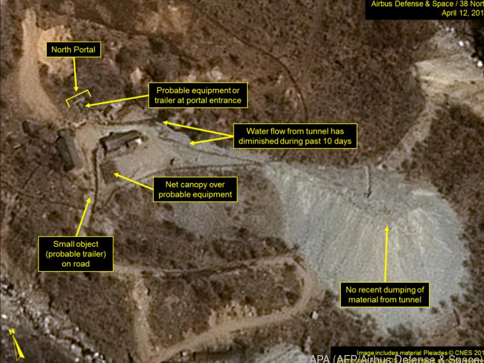 Das Ende von Atomtestgelände  Punggye Ri scheint besiegelt zu sein