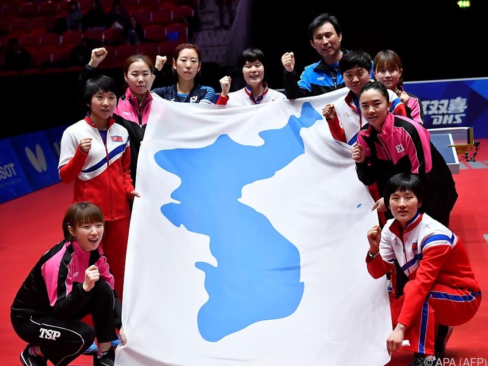Das gemeinsame koreanische Team erhält Bronze