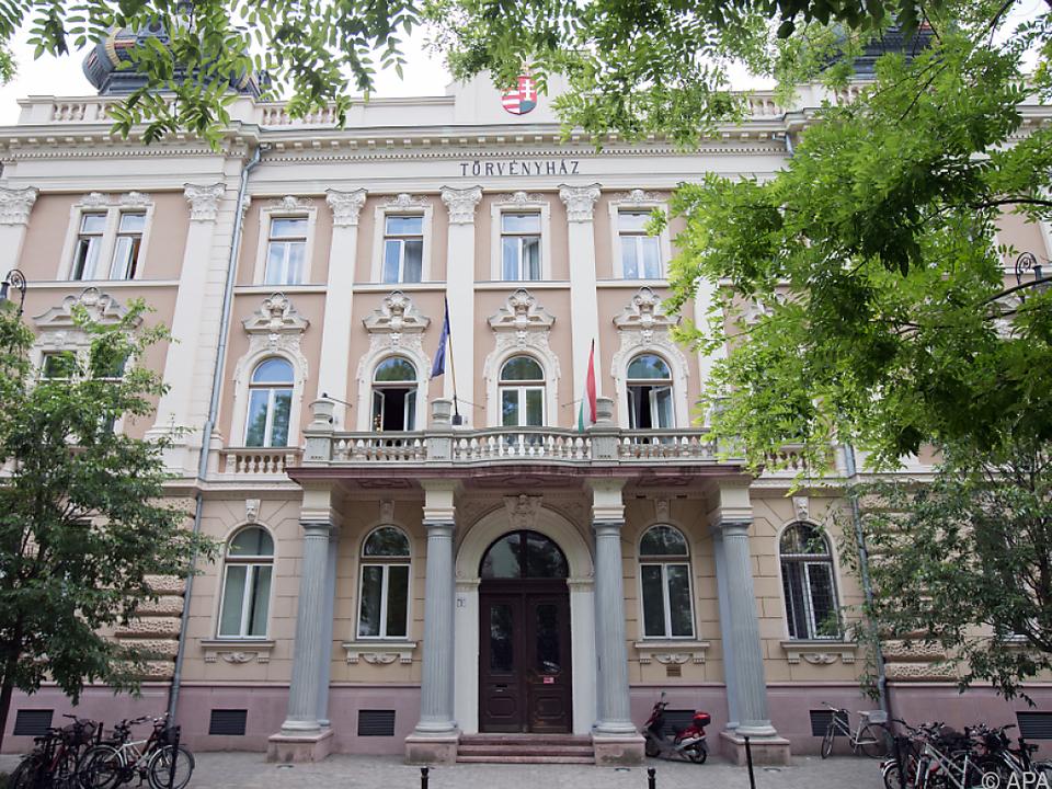Das Gerichtsgebäude in Kecskemet