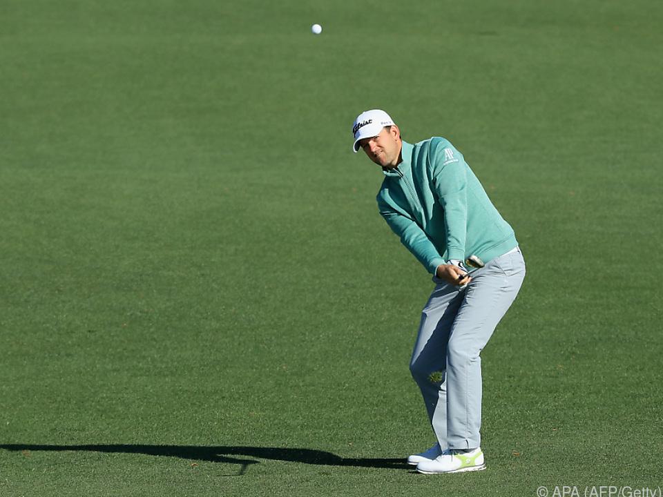 Das Golfspielen muss Wiesberger vorübergehend lassen