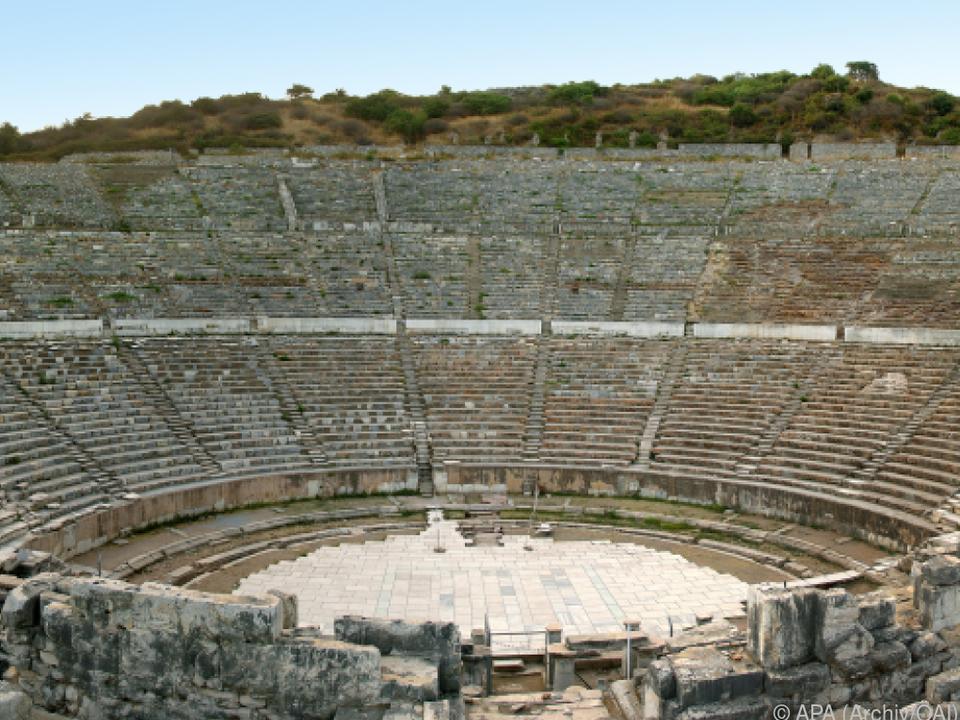 Das Große Amphitheater in Ephesos