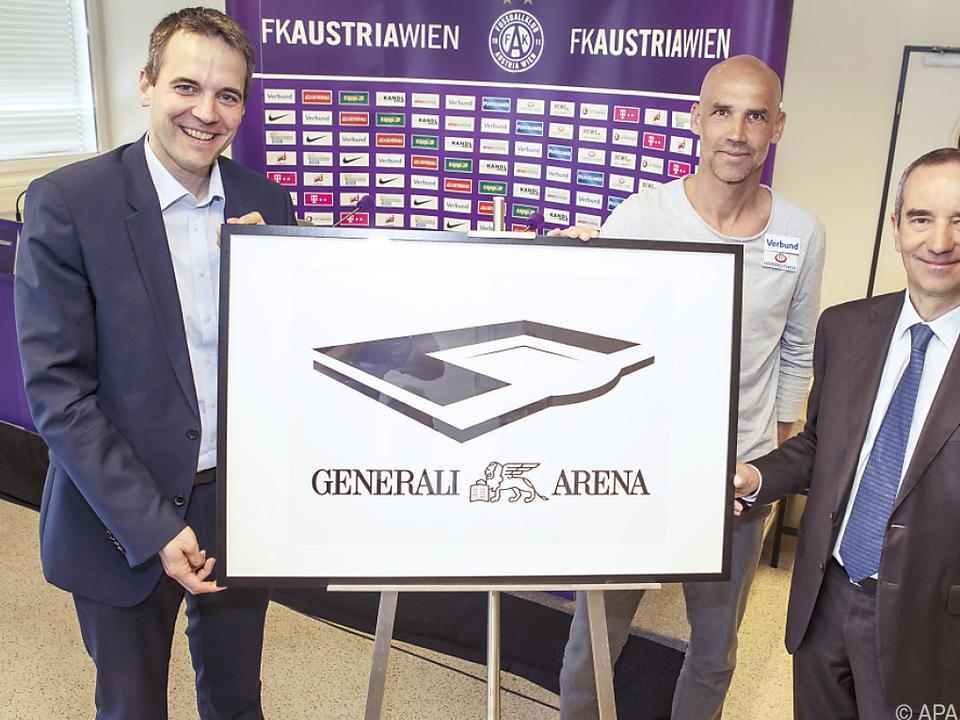 Das neue Stadion der Wiener Austria als Final-Austragungsstätte