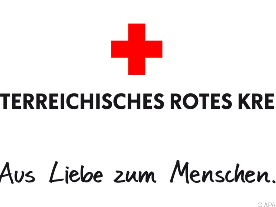 Das Österreichische Rote Kreuz kommt bei den Leuten an