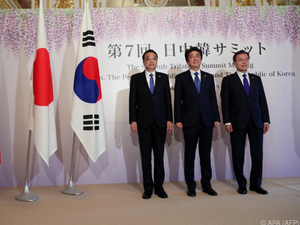Das Problem Nordkorea eint China, Japan und Südkorea