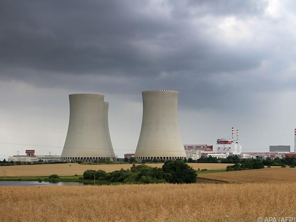 Das tschechische Atomkraftwerk in Temelin