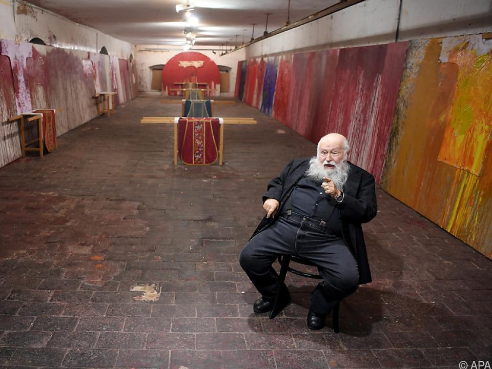 Der bekannte Künstler feiert im August seinen 80. Geburtstag