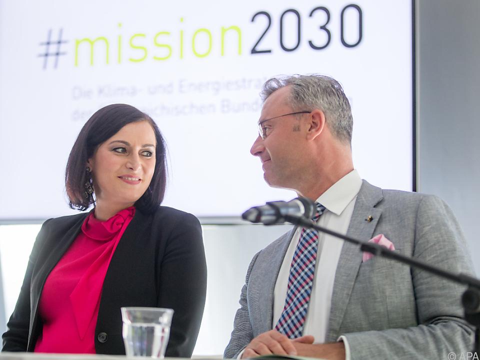 Der Kampf gegen den Klimawandel habe Priorität so Köstinger