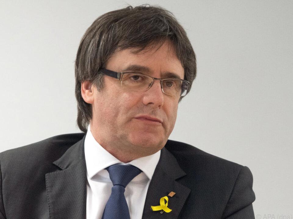 Der Katalane Puigdemont hält sich derzeit in Deutschland auf
