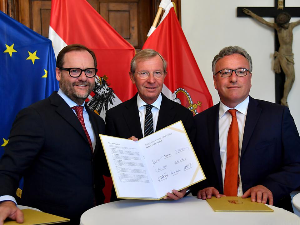 Der Koalitionsvertrag wurde unterzeichnet