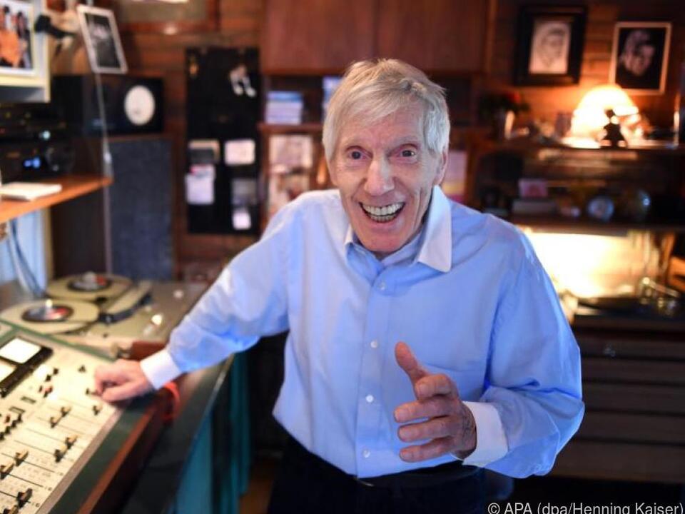Der Musiker Hans Blum alias Henry Valentino feiert seinen 90. Geburtstag