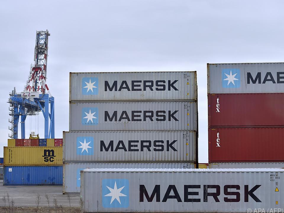 Der Schiffskonzern Maersk hat bereits einen Rückzieher gemacht