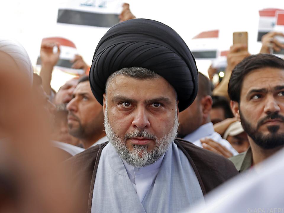 Der schiitische Geistliche Al-Sadr liegt vorne