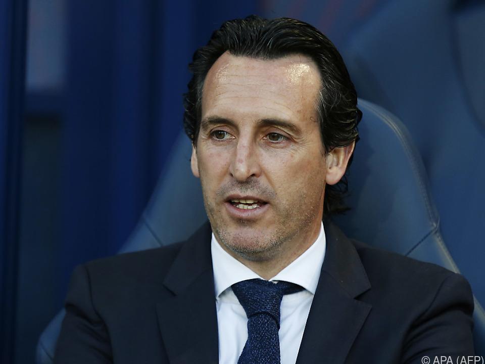 Der Spanier Emery freut sich auf Arsenal und London