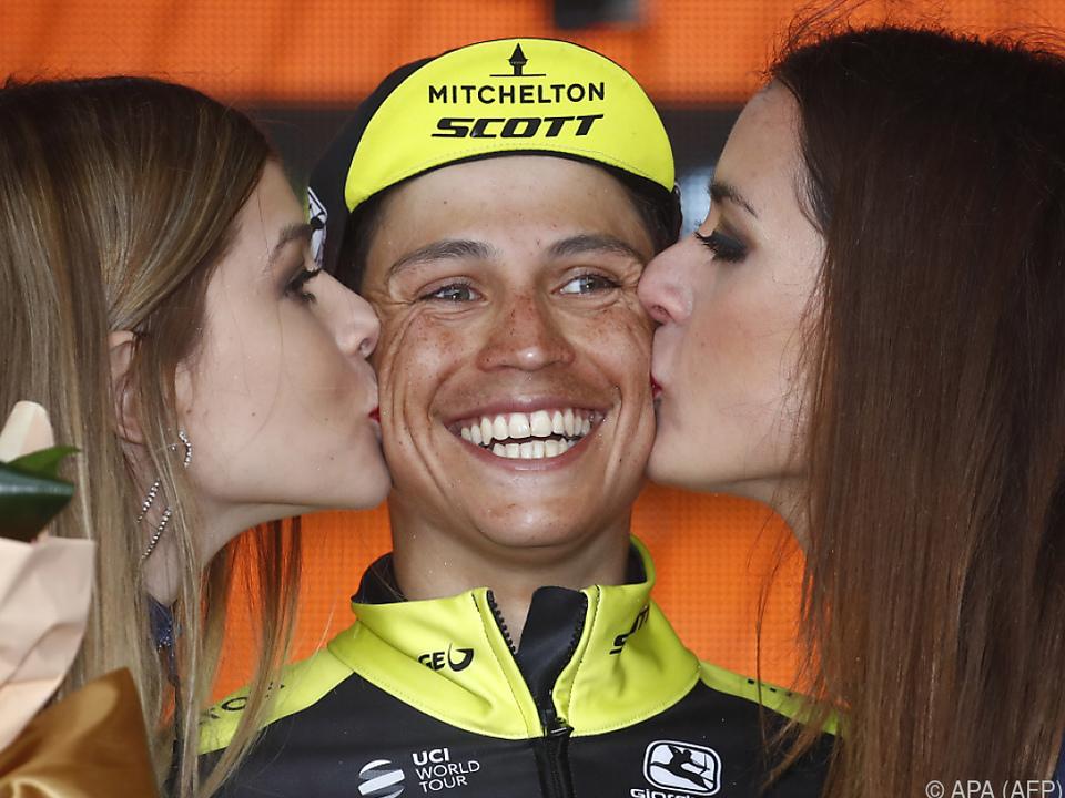 Der strahlende Sieger Johan Esteban Chaves