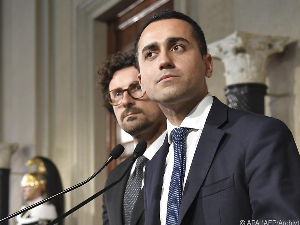 Di Maio verhandelte den Koalitionsvertrag mit Salvini