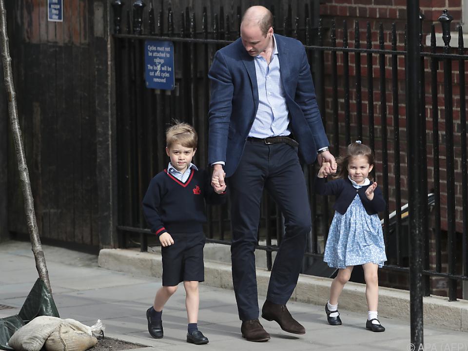 Die beiden Kinder von Prinz William begleiten die Braut zum Altar