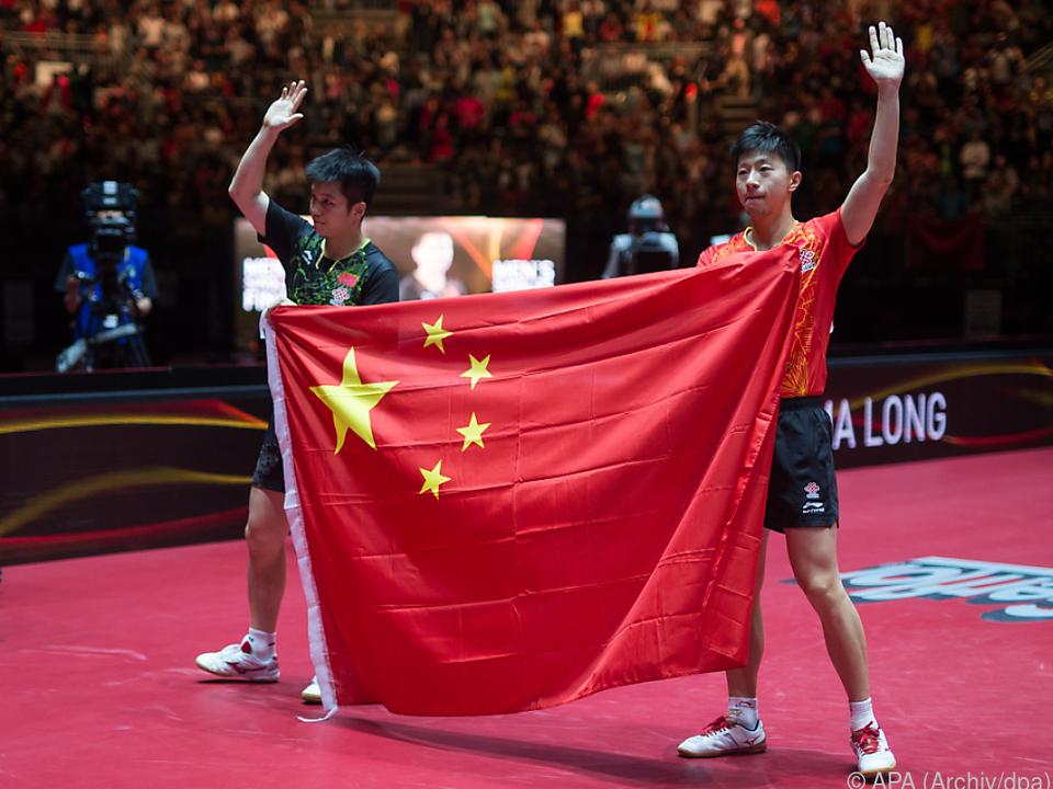 Die Chinesen waren wie erwartet ein zu starker Gegner
