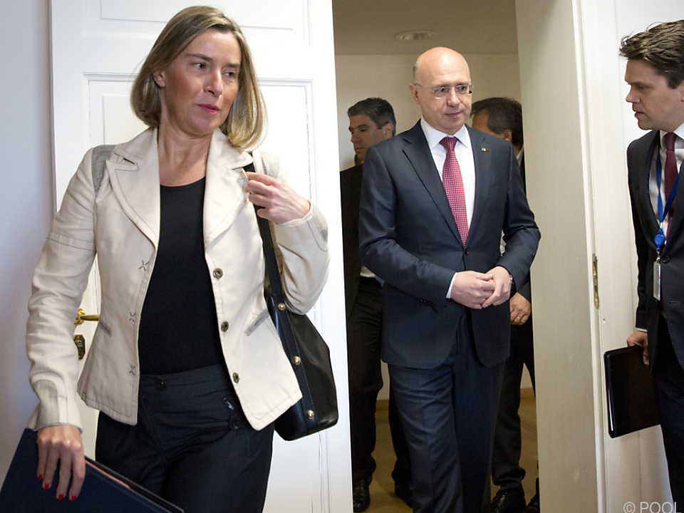 Die EU-Außenbeauftragte Federica Mogherini will mehr Kooperation