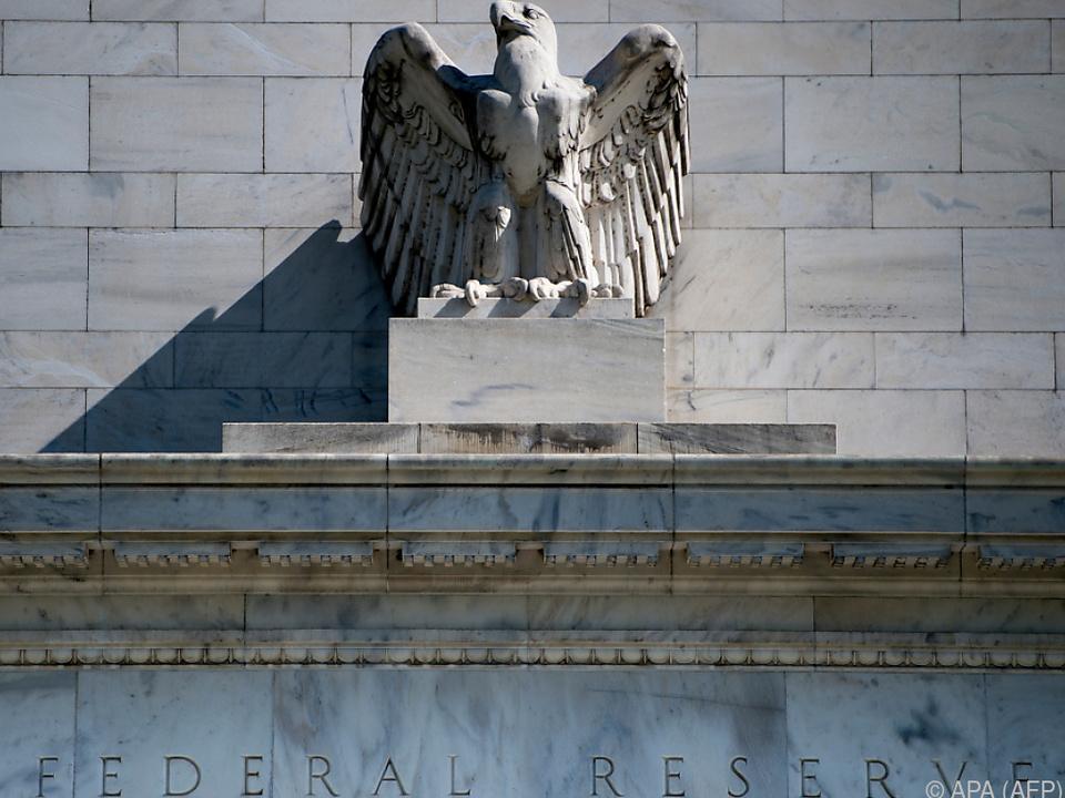 Die Fed veröffentlichte das \