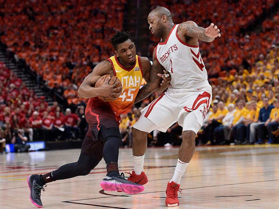 Die Houston Rockets gewannen in Salt Lake City