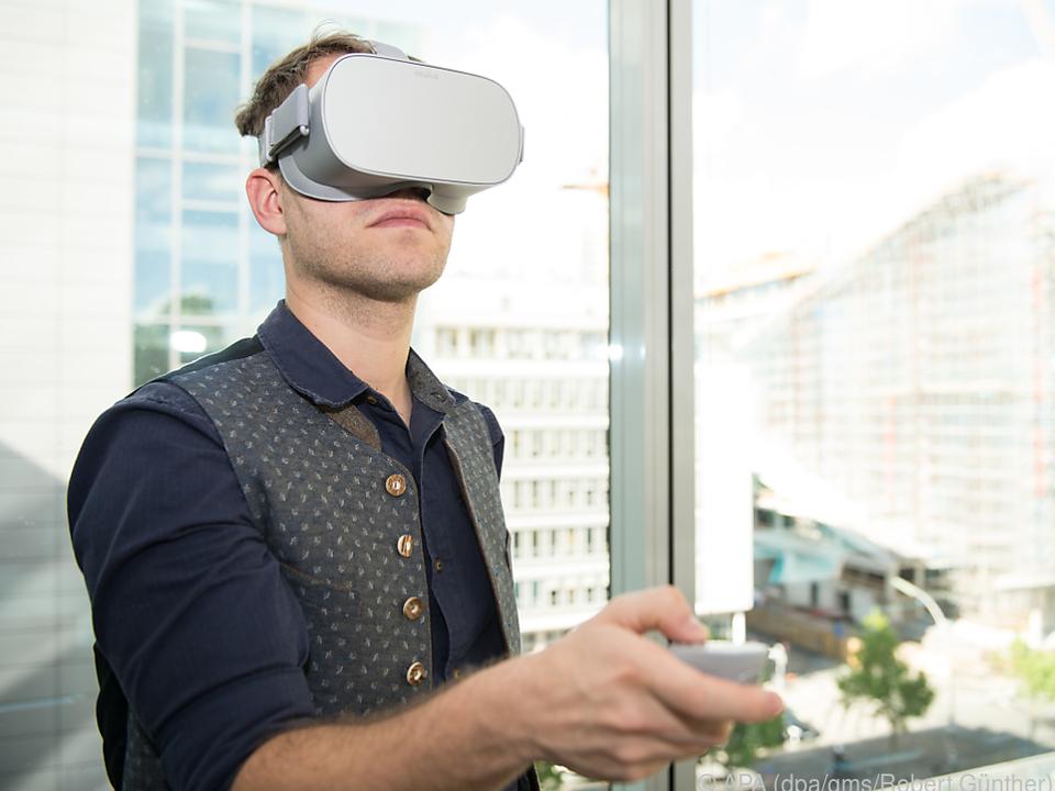 Die Oculus Go packt alle Hardware in eine Brille