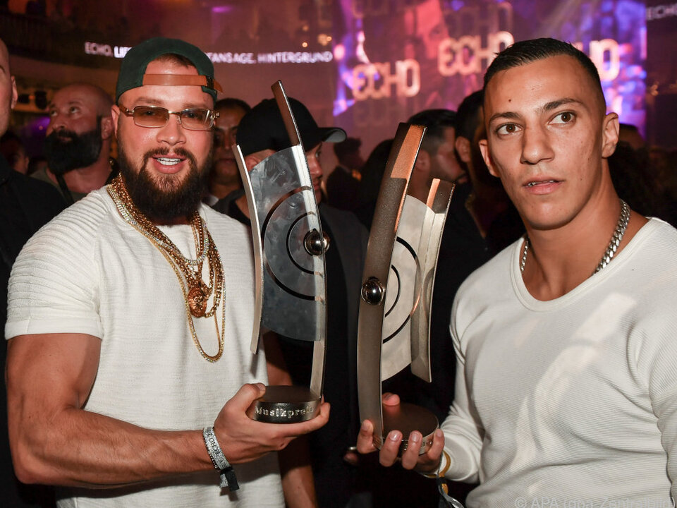 Die Rapper erhielten trotz massiver Kritik vor Kurzem einen Echo