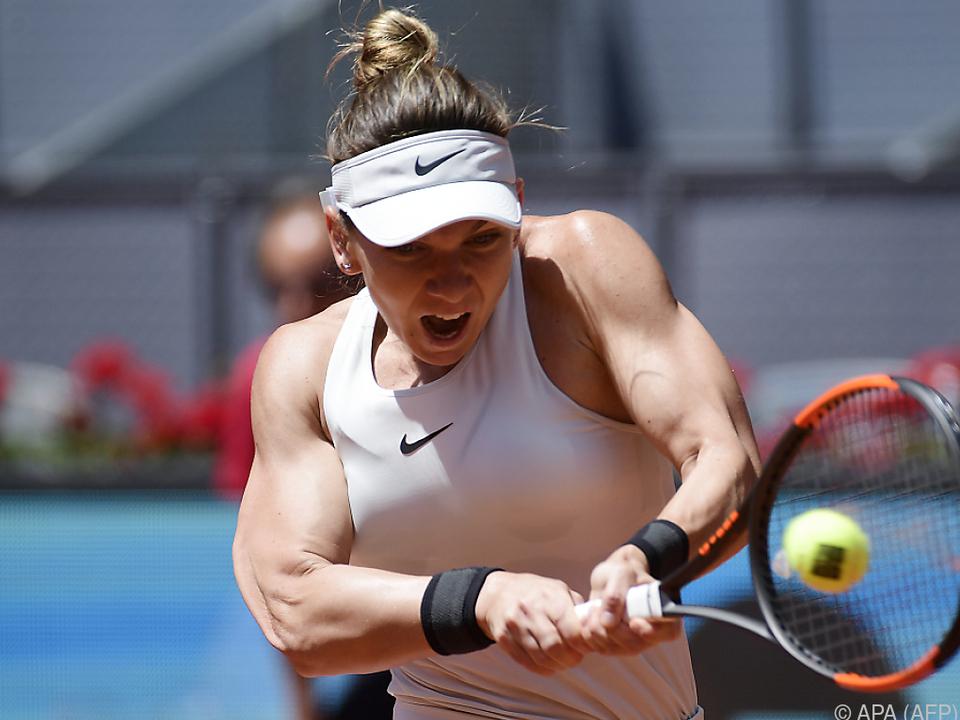 Die Rumänin scheiterte mit 4:6,3:6 an der Tschechin Karolina Pliskova