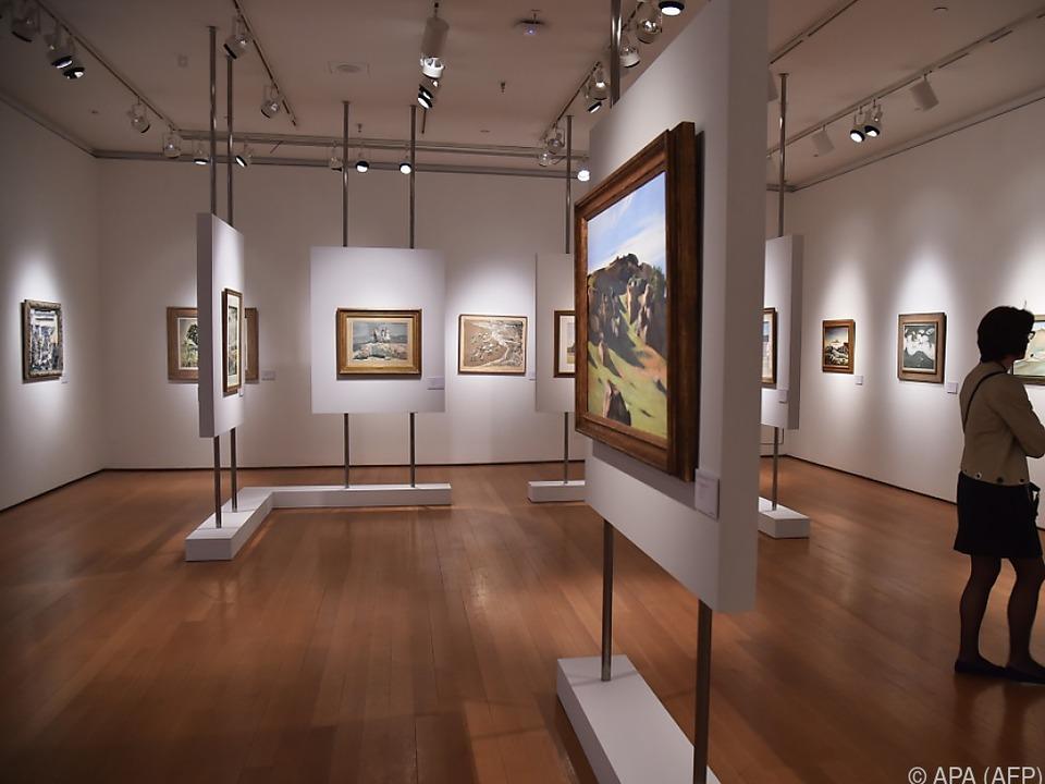 Die Sammlung wurde zuletzt in New York präsentiert