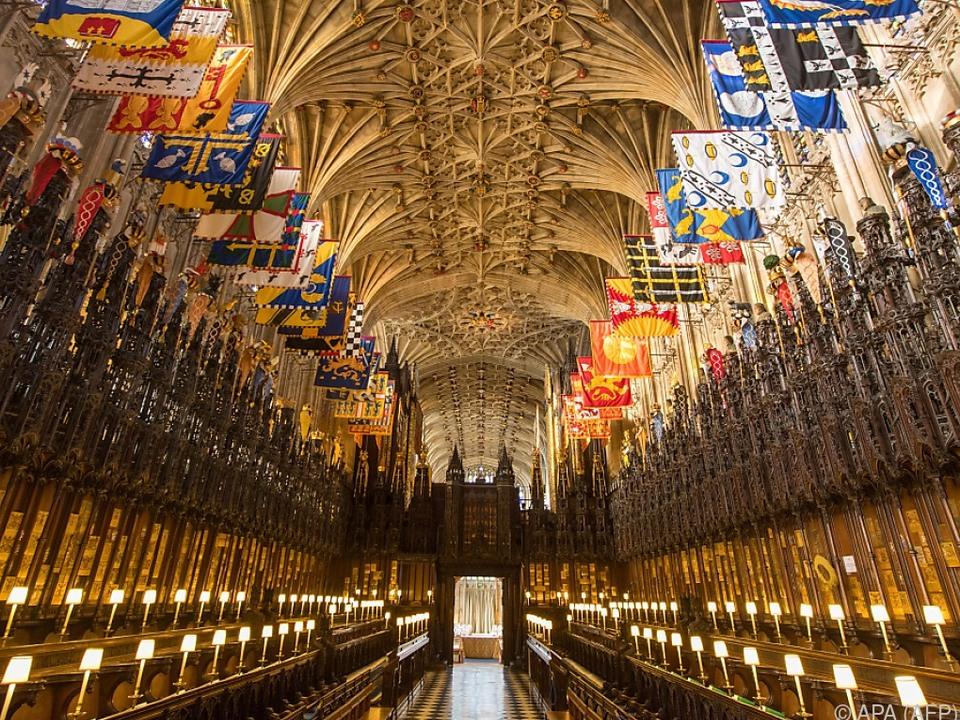 Die St. George\'s Chapel im Schloss Windsor