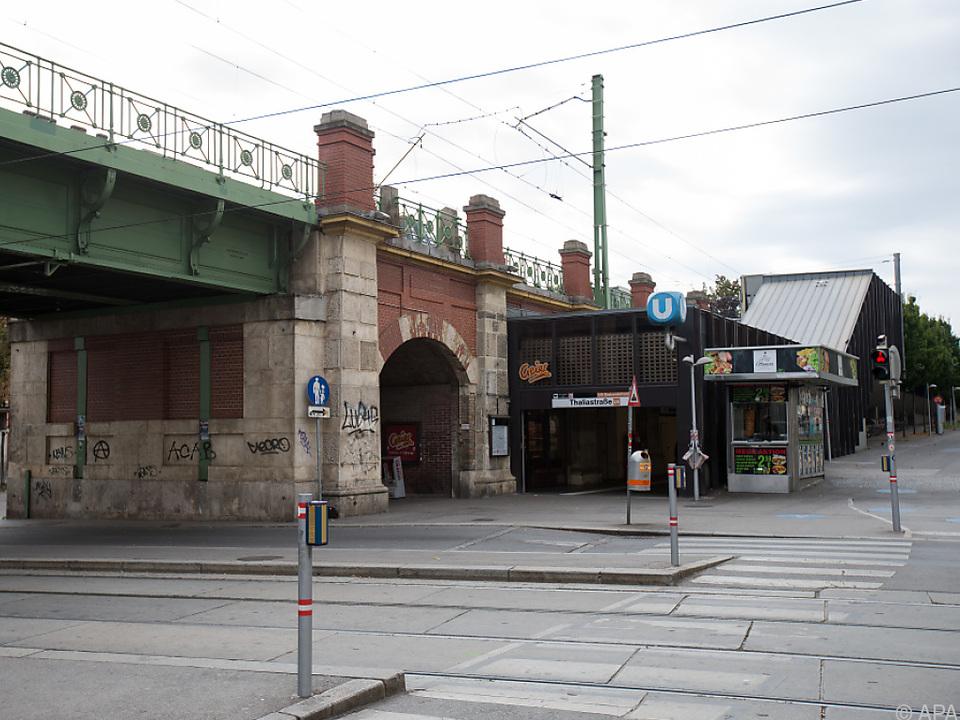 Die Tat geschah am 1. Oktober bei der U-Bahn-Station Thaliastraße