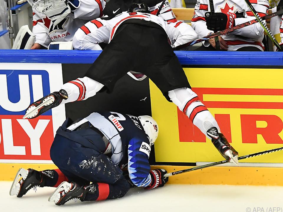 Die USA luchsten den Kanadiern den Sieg noch ab