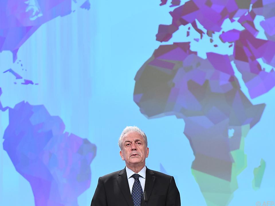 Dimitris Avramopoulos setzt stark auf die österreichische Präsidentschaft