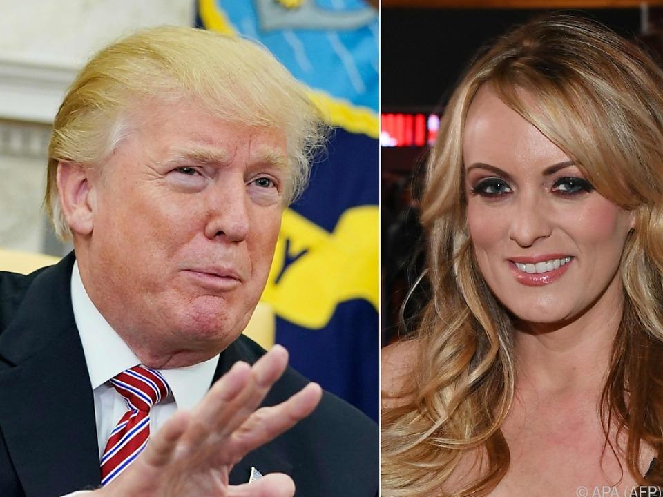 Donald Trump und Stormy Daniels: Sexaffäre zieht weitere Kreise