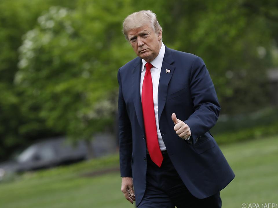 Donald Trump verkündet Entscheidung kurz vor Fristablauf
