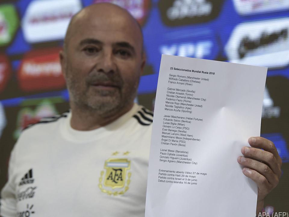 Eine Liste, 23 Namen - Diese Spieler fahren zur WM