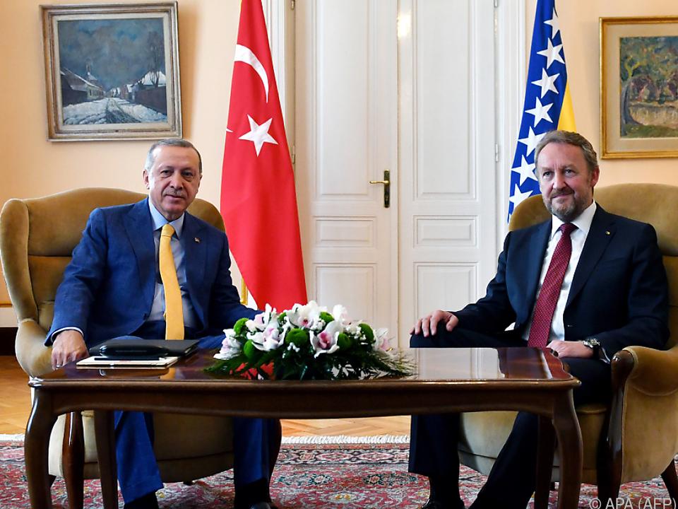 Erodgan führte auch bilaterale Gespräche