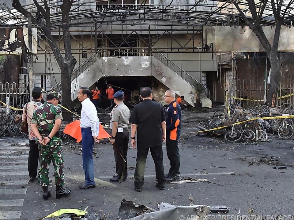 Erst am Sonntag wurden Anschläge auf christliche Kirchen verübt