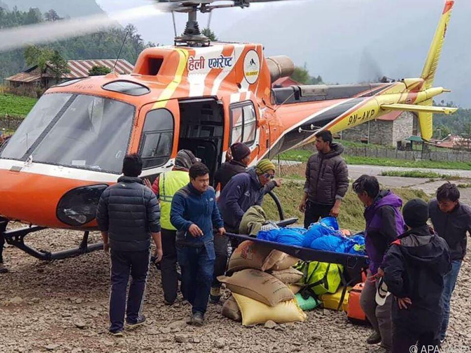 Es war bereits der dritte Todesfall in der diesjährigen Klettersaison