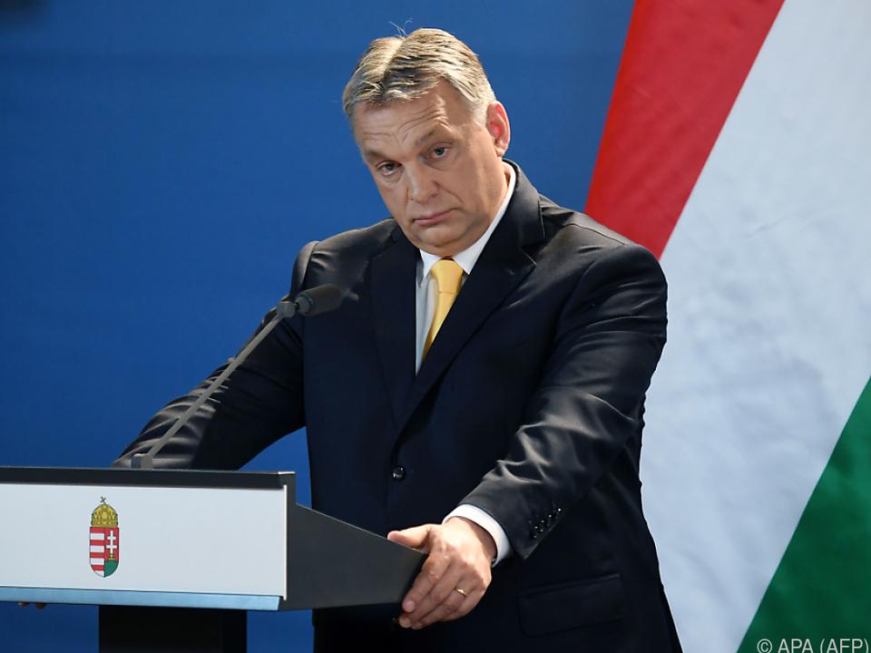 EU ist angesichts Orbans autoritärem Kurs besorgt