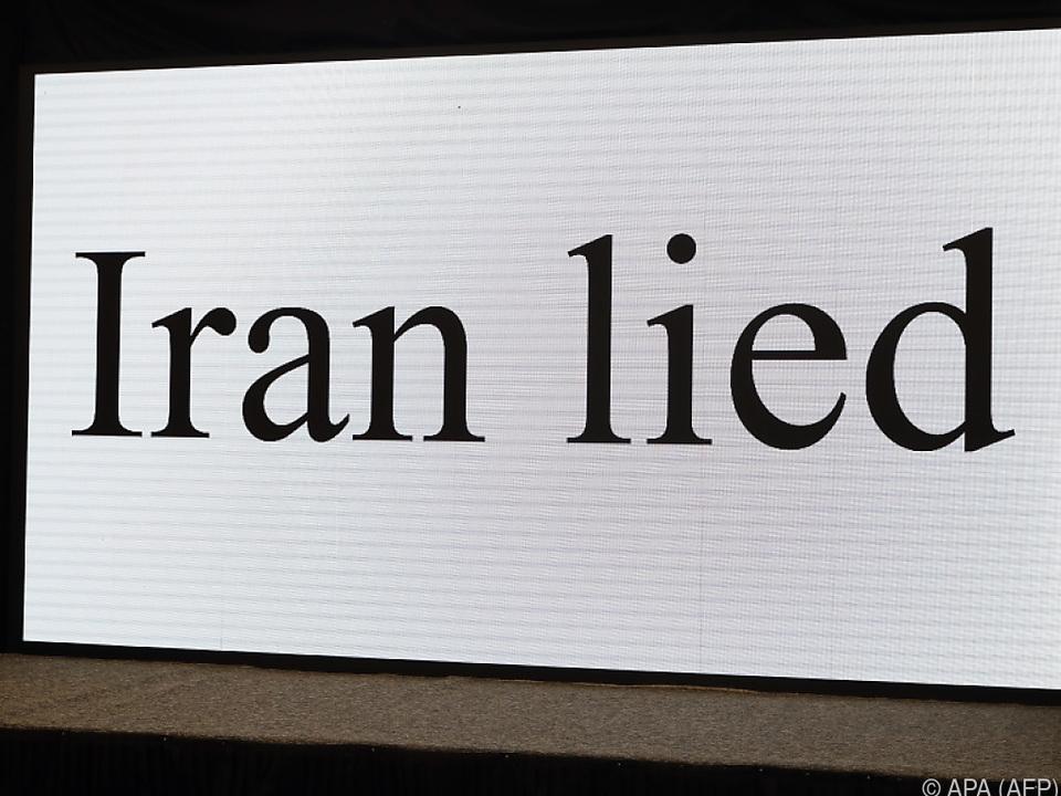 Für Israel ist die Sache klar: der Iran lügt