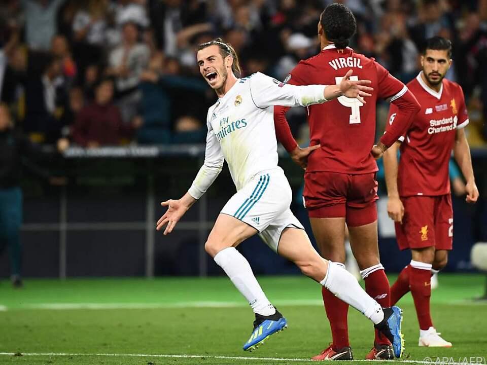 Gareth Bale nach einem unglaublichen Treffer zum 3:1