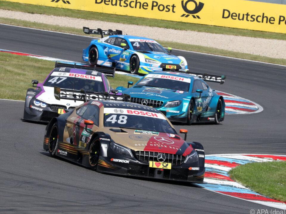 Gary Paffett siegte am Sonntag am Lausitzring