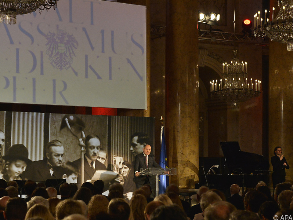 Gedenkveranstaltung gegen Gewalt und Rassismus in der Hofburg