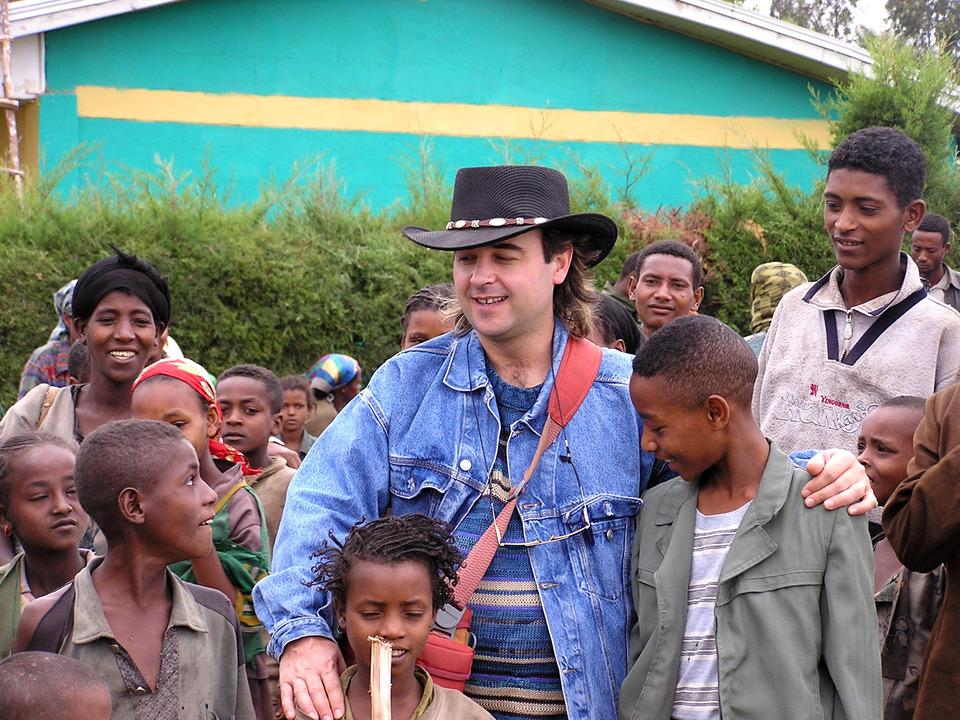 George McAnthony Äthiopien